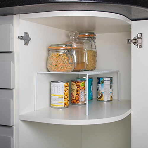 Home Treats Wire Add A Shelf Insert. Perfect for Pots, Pans Home and Kitchen Storage Organiser Img 1 Zoom