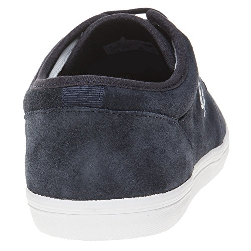 Fred Perry Stratford Suede Navy B1168608, Turnschuhe Blau