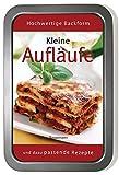 Kleine Aufläufe-Set: Mit Fleisch, Fisch und vegetarisch. Buch und passende Auflaufform