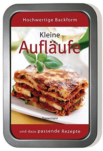 Kleine Aufläufe-Set: Mit Fleisch, Fisch und vegetarisch. Buch und passende Auflaufform Lasagne Baker