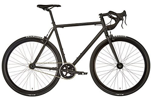 FIXIE INC CYCLES-FOR-HEROES.COM Fixie Inc. Floater Race Black Matte Rahmengröße 55,5 cm 2017 Cityrad