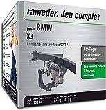 Rameder Attelage escamotable pour BMW X3 + Faisceau 7 Broches (159341-38057-1-FR)