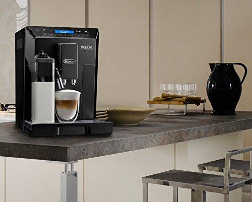 De'Longhi ECAM44.660.B Eletta Bean to Cup Coffee Machine, 1450 W – Black