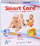 SMARTCARE Saify Healthkart Super Absorbent, Skin Friendly, Baby Diaper (Large)-10 Pieces