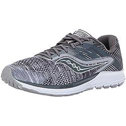 Zapatillas para correr Ride 10 para hombres, Gris, 9 M US