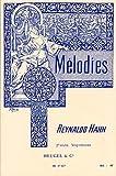 20 MELODIES 2 - arrangiert für Gesang und andere Besetzung - Klavier [Noten / Sheetmusic] Komponist: HAHN REYNALDO