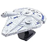 Fascinations 'Iconx Star Wars Solo Lando 's Millennium Falcon 3D Metall Model Kit
