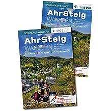 AhrSteig Wandern - Start-Set Buch & Karte 1: 25000. Offizielles Wander-Set zur endgültigen Trasse mit App-Anbindung.