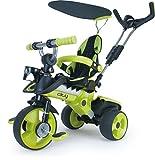 Dreirad in Grün für Kinder ab 6 Monaten mit Sicherheitsbügel und Sonnendach City Green