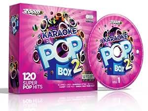 Zoom Karaoke Pop Box 2 Party Pack - 6 CD+G Box Set - 120 Songs