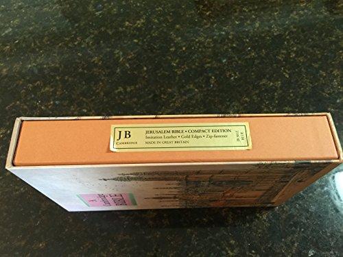 Jerusalem Bible Compact Edition Blue imitation leather, slide fastener, JB 2131 SF