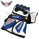 Motor Bike Gloves Repsol Honda Motor Bike Guantes Racing Moto GP negro azul blanco