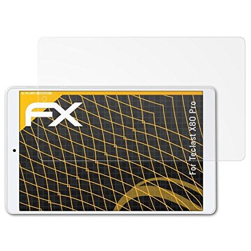 atFoliX Pellicola Protettiva per Teclast X80 PRO Protezione Pellicola dello Schermo, antiriflesso e Ammortizzante FX Pellicola Proteggi (2X)