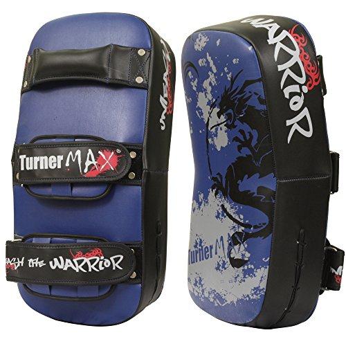TurnerMAX Vinyl Thai Pad Curved Drache Boxing Stanzen Ausbildung