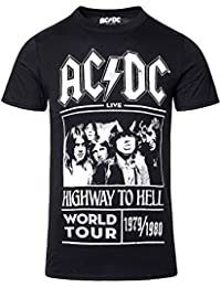 Camiseta AC/DC Highway To Hell Tour (Negro)