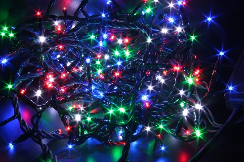 House of Fun Luci 96 Led Multicolor c/Giochi mt.35""
