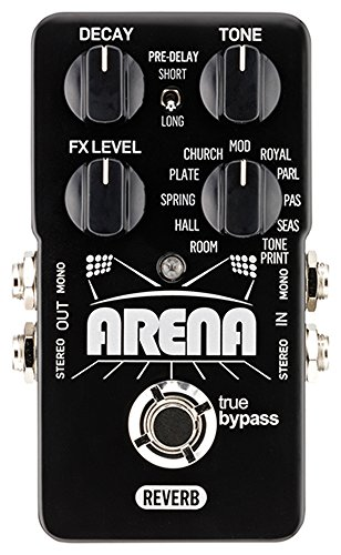 TC ELECTRONIC ARENA REVERB · PEDAL GUITARRA ELECTRICA