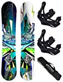 AIRTRACKS SNOWBOARD SET - TAVOLA PLACES WIDE 165 - ATTACCHI SAVAGE L -