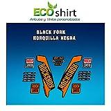 Ecoshirt R1-UTRT-7DMJ Stickers Fork Rock Shox Xc32 2017 Am122 Autocollants...