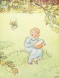 Leonard Leslie Brooke – Nursery Rhymes 1916 Little Miss Muffet Kunstdruck (60,96 x 91,44 cm)