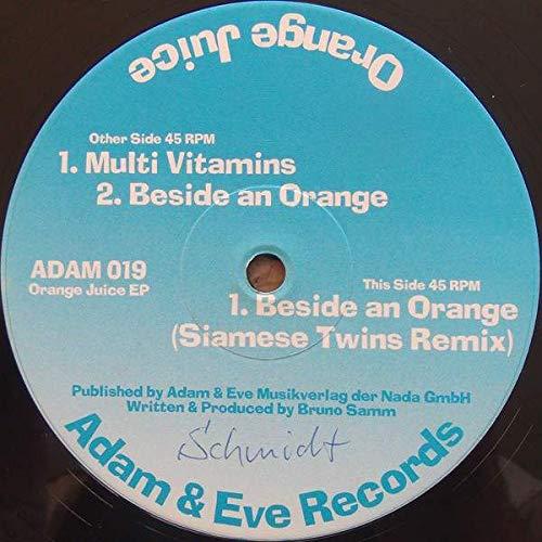 Orange Juice - Orange Juice EP - Adam & Eve Records - ADAM 019