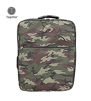 Togather® Outdoor Protective Series Waterproof Camouflage Backpack Carrying Case Portable Carrying Bag for Drone DJI Phantom 4