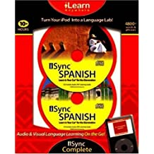iSync Spanish Complete (iLearn Anywhere) by Ipod 2 X MP3 CD (2008-10-04)