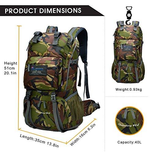 Mountaintop Trekkingrucksack 40L - 3