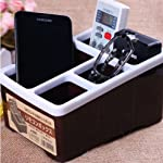 Multipurpose Desktop Caddy Organizes all Your Daily Essentials - Mobile Phones,Optical Frames,Stationary,Jewelry,ect.