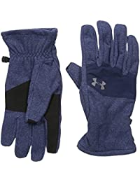 Under Armour, Survivor Fleece Glove 2.0, Guanti, Uomo, Blu (Midnight Navy/Midnight Navy/Graphite 410), L