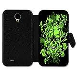 Book Style Flip Handy Tasche Case Schutz Hülle Schale Foto Motiv Etui für Huawei Ascend P7 Mini - A3 Design15