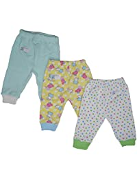 NammaBaby Leggings Ribbed Pajamas for New Born - Set of 3 (6-9 Months)