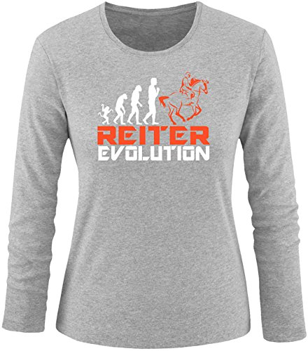 EZYshirt® Reiter Evolution Damen Longsleeve