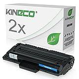 2 Toner kompatibel zu Samsung MLTD1092S für Samsung SCX-4300 SCX-4610 - MLT-D1092S/ELS - Schwarz je 2.000 Seiten