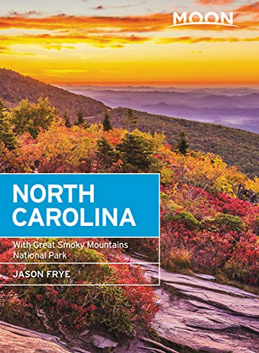 Moon North Carolina: With Great Smoky Mountains National Park (Travel Guide) - Charlotte Nc Karte