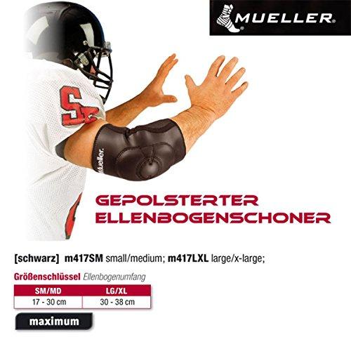 Unbekannt Mueller Gepolsterter Ellenbogenschoner Gr.S/M 17-30cm