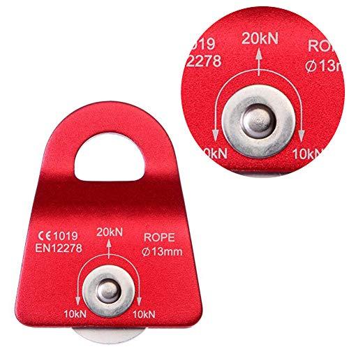 Xiton 1 STÜCK 30KN Swing Cheek Micro Riemenscheibe Micro Prusik Minding Riemenscheibe Allzweck