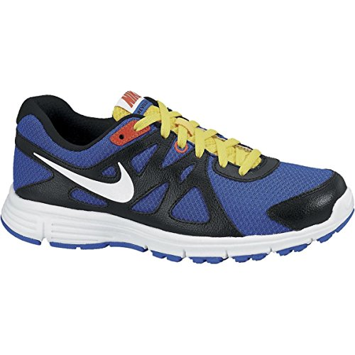Calzatura Nike Revolution blue black GS 2 qqHUCw1