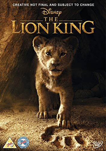 The Lion King [DVD] [2019]