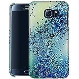 Handyhülle mit Abstract-Design: Samsung Galaxy S6 Hülle / aus recyceltem PET / robuste Schutzhülle / Stylisches & umweltfreundliches Hard Case - S6 Hüllen: Birds of a Feather Stone von Amy Sia