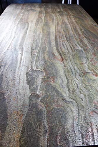 Dünnschiefer Schieferfurnier Stone Veneer Steinfurnier Wandverblender  Echtstein Steinwand Glimmersch