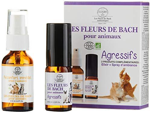 Elixirs Co Las Flores De Bach Kit Para Animales Agresivos