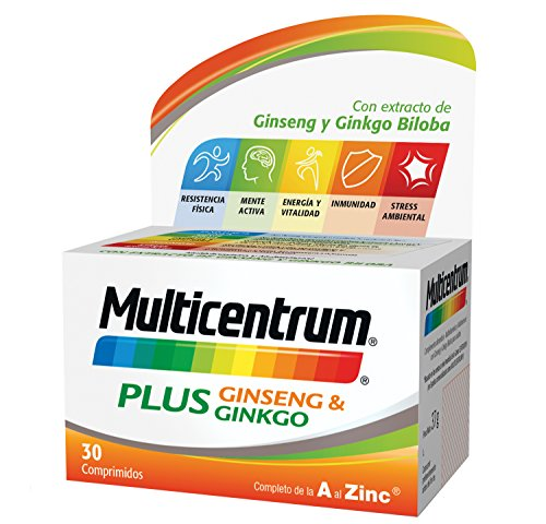 Multicentrum Plus complemento alimenticio con 13 Vitaminas, 8