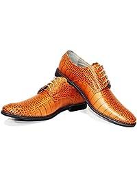 Vente en ligne Modello Orione - 44 Eu - Chaussures Habillées À La Main En Cuir Italien Homme Richelieus Peau D'orange - Cuir Gaufré En Cuir - Dentelle mieux en ligne Manchester prix des ventes obtenir authentique 5A9J9Xj7mz