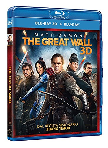 The Great Wall (Blu-Ray 3D + Blu-Ray)...