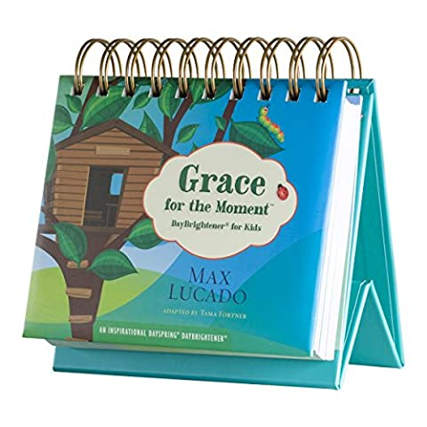 DaySpring Max Lucado's KIDS Grace for The Moment Perpetual Flip Calendar, 366 Days of Inspiration