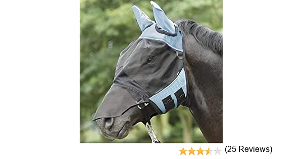 Busse Everline Fly Cover Pro Masque anti-mouches pour cheval