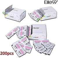 Elite99 200pcs Removedor de Uñas de Gel Esmalte Permanente Semipermanente Limpiador de Uñas Gel UV LED Manicura y Pedicura