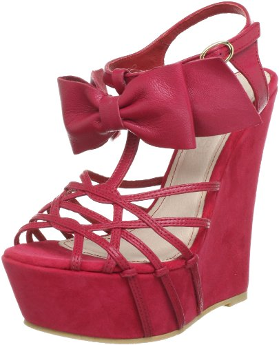Supertrash Bowstrap SS13M038, Sandali col tacco donna, Rosa (Pink (Pop Pink 2020)), 37