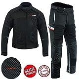BOSMoto Sportliche Motorrad kombi Motorradjacke (L)